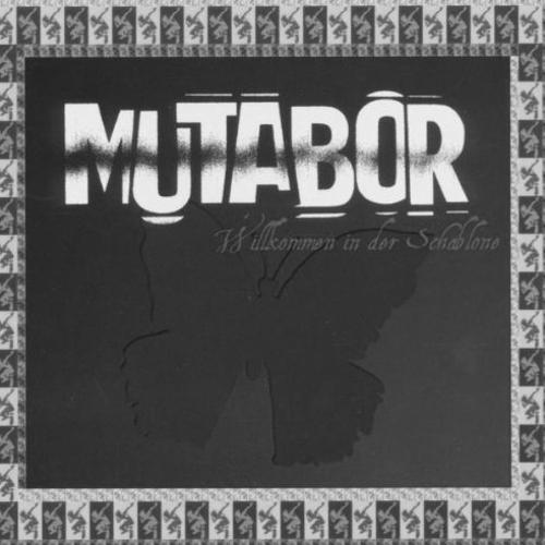 mutabor - schablone stretch bw